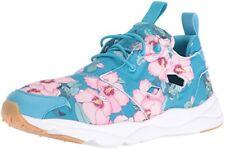 96333c7efdcb Reebok Furylite FG Womens BD1097 Floral Flight Blue Pink Training Shoes  Size 7