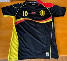 /AUTHENTIC/ Belgium National Team Jersey - No. 10 - Eden Hazard - LARGE