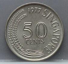 Singapore - 50 Cents 1977 - KM# 5