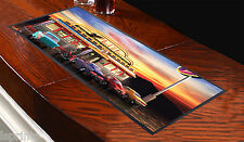 American Diner Design Bar Runner Great Gift Idea Ideal For Pubs Clubs Parties