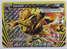 Zoroark BREAK - 92/162 XY BREAKthrough - UPSIDE DOWN ERROR/MISPRINT Pokemon Card