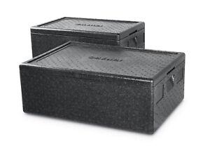 Hendi Thermobox 80 Liter 707944 685x485x360mm Transportbox Warmhaltebox Imbiss