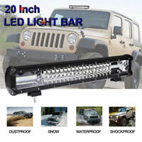 20'' Inch 540W Quad-row LED Work Light Bar Combo Offroad Driving Lamp Car Truck