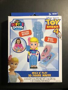 Toy Story 4 - Cra-Z-Art Softee Dough Mold N' Play 3D Figure Maker - Bo Peep