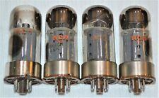 4 Vintage RCA   6550 Audio Amplifier Tubes