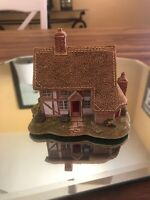 Lilliput Lane Leagrave Cottage 1994 Signed Original Box And Deed