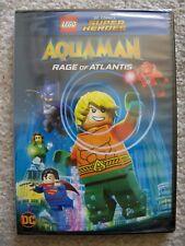 Lego - Dc Super Heroes: Aquaman: Rage Of Atlantis Dvd - New & Sealed