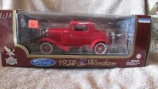 Road Legends 1932 Ford 3-Window - Red -1:18 Scale - #92248  (CA 19)