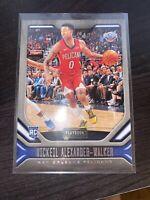Nickeil Alexander-walker Panini Playbook Rookie Card New Orleans Pelicans