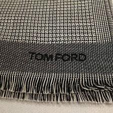 TOM FORD scarf SILK WOOL NEW NWT