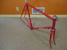 1977 Vintage Raleigh Super Course Road Frame Set with Reynolds 531 Tubing