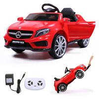6V Electric Kids Ride On Car Mercedes Benz Licensed w/ MP3 RC Remote Control Red
