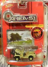 2008 Johnny Lightning Area 51 Release 1 1966 Jeep CJ-5 Combine Shipping