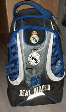 Sac à dos a roulette Real Madrid Neuf New school bag football fifa voyage