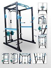 BODYRIP pro power rack & lat pull down cage a squat ligne assis arm curl