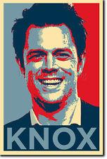 JOHNNY Knoxville art photo print (Obama Hope) Poster Jackass Cadeau