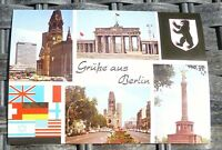 Salutations de Berlin Carte Postale 50er 60er Années Pfb 26 Å