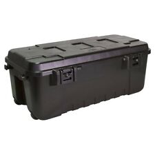 Pickup Truck Bed Garage Storage Locking Tool Box Cargo Locker Trunk Chest Black