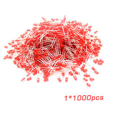 Universal 1000 Pcs/Set 5mm Diffused Red Lens Round LED Light Emitting Diodes EG