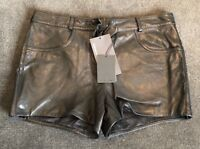 Alexander Wang Leather Shorts Size 6US New With Tags