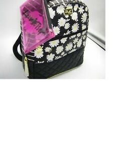 Luv Betsey by Betsey Johnson LB Fun Size Backpack Daisies & Pouch FACTORY SEALED