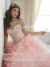 2017 Beading Quinceanera Dress Ball Gown Formal Pageant Prom Party Wedding Dress