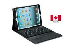 Leather Stand Case  Cover With Wireless Bluetooth Keyboard For iPad Air
