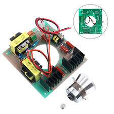 60W 40KHz Ultrasonic Cleaning Transducer Cleaner + Power Driver Board 110V