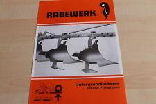 144314) Rabewerk Untergrundlockerer Prospekt 08/1976