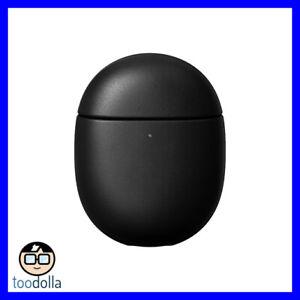 NOMAD Rugged Case - genuine leather case for Google Pixel Buds A-Series, Black