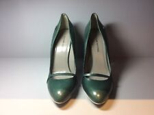 Women's CoSTUME NATIONAL green leather shoes size 39