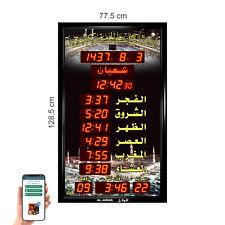 Auto ISLAM Islamique prière Salat Salah Times timings Mosquée Masjid Horloge alawail