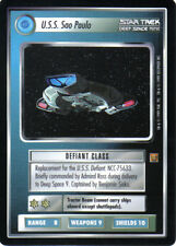 STAR TREK CCG RULES OF ACQUISITION RARE CARD U.S.S. SAO PAULO