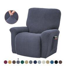 Silla Reclinable De Estiramiento Slipcover Durable Cubierta de muebles de sofá de jacquard suave de alto