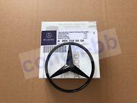 Mercedes C Class W204 2008-14 Rear Boot Lid Badge Star - Gloss Black A2047580058