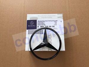 Gloss Black star badge for Mercedes C Class W204 2008-14 Rear Boot A2047580058