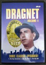 Dragnet Volume 1: Three Classic Episodes