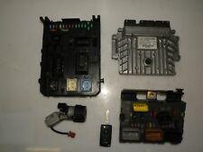 PEUGEOT 307 CC 2007 2.0 HDI LHD IGNITION KIT ENGINE CONTROL SET ECU 9665465880