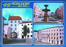 AK Mühldorf am Inn ungelaufen