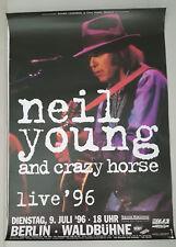 Neil Young Berlin Waldbühne 9.7.1996 84x59,5 Tourplakat, Poster
