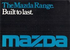 Mazda 1976-77 UK Market Foldout Sales Brochure 1000 1300 818 616 929 B1600