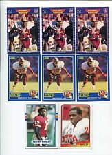 Dexter Manley 8 card lot Oklahoma St. Cowboys / Washington Redskins