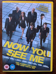 Now You See Me DVD 2013 Illusionist Hustler Magician Crime Movie