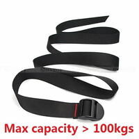 Adjustable Travel Luggage Luggage Bag Suitcase Security Strap Belt Black