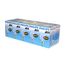 10 X PHILIPS Ampoule Goutte 60W E14 Transparent 60 watts