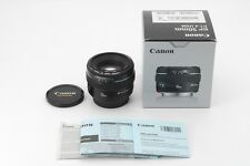 [Near Mint in Box] Canon EF 50 mm F/1.4 EF USM Prime AF Lens from Japan #168