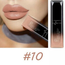 1Pc Chic Cinnamon Pink Matte Lip Gloss Lipstick Waterproof Long Lasting Makeup