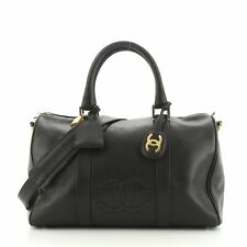 Chanel Vintage Timeless Boston Bag Caviar Medium