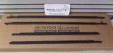 Toyota Sienna Door Belt Moulding 4pc Kit Set Weatherstrip Genuine OEM OE