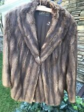 MINK FUR WOMEN'S VINTAGE REAL MINK FUR COAT